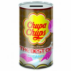The Best of Chupa Chups Lollipops (tin coin bank)