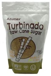 Turbinado Raw Cane Sugar 100% Natural by Azumex