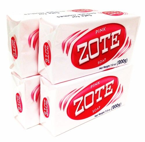 Zote Pink Laundry Soap (Pack of 4)