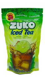 Zuko Iced Tea LEMON Drink Mix (Makes 9 qt - 8.6 Liters)