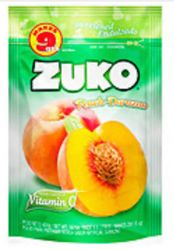 Zuko Peach Flavor Drink Mix (Makes 9 qt - 8.6 Liters)