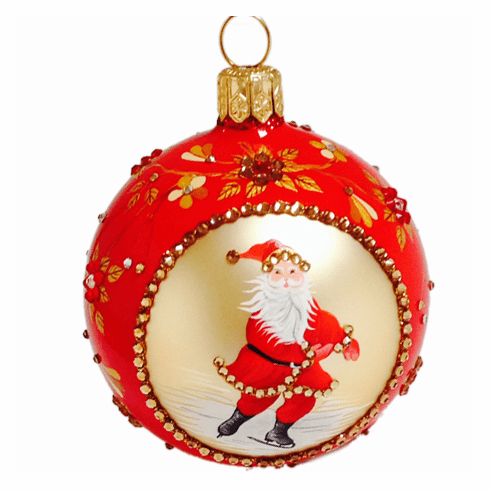 Beguiling Orb Red Ornament