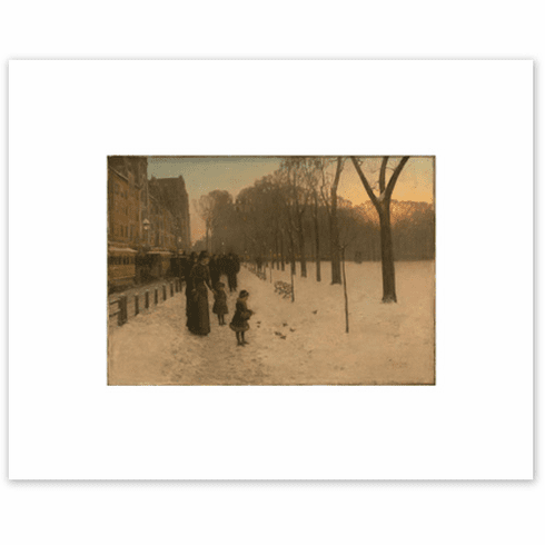 <I>Boston Common at Twilight</I><br>8 x 10 Matted Print