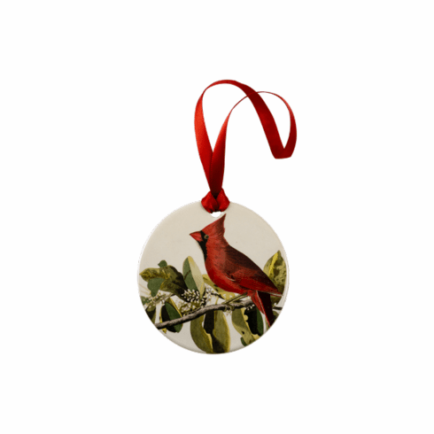 <i>Cardinal Grosbeak</i> Holiday Ornament