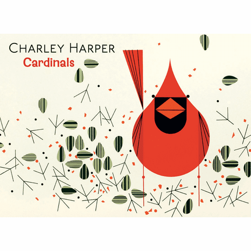 Charley Harper <i>Cardinals</i> Boxed Notecards