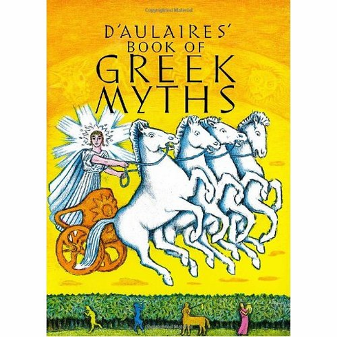 D'Aulaires' Book of Greek Myths <br>Hardcover