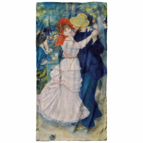 <i>Dance at Bougival</i> Scarf