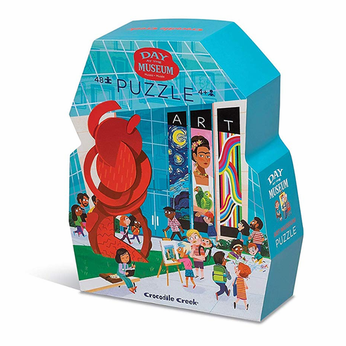 Day at The Art Museum 48-Piece Puzzle
