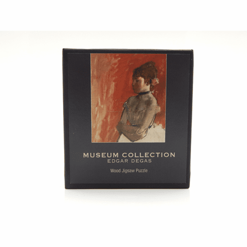 Degas Little Fourteen-Year-Old Dancer Micro Wooden Puzzle