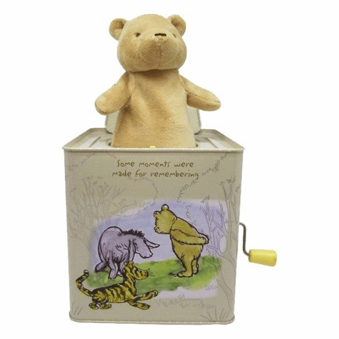 Disney Baby Classic Winnie The Pooh Jack-in-The-Box