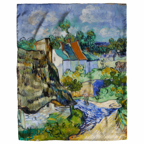 <i>Houses at Auvers</i> Scarf