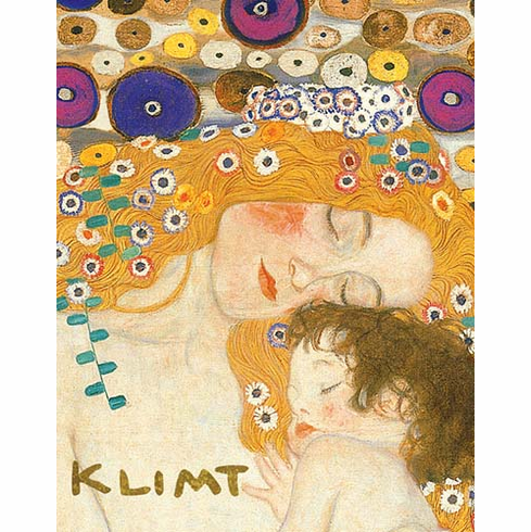 Klimt <i>Mother and Child</i> Notecard Box