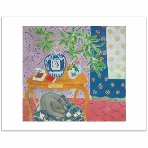 Matisse <i>Interior with a Dog</i>