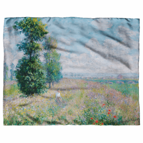<i>Meadow with Poplars</i> Scarf