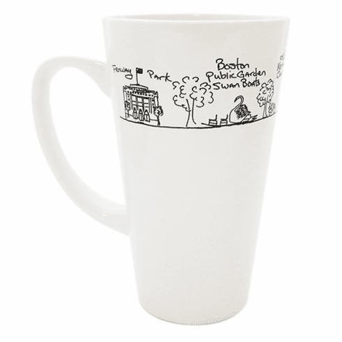 <i>Memories of Boston</i> Tall Mug