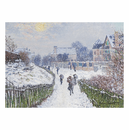 MFA <i>Boulevard Saint-Denis, Argenteuil, in Winter</i> Holiday Cards