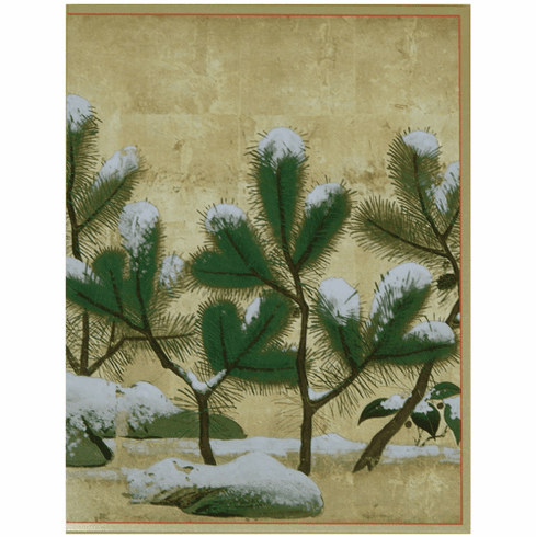 MFA <i>Snow-Covered Pines & Chrysanthemums</i> Holiday Cards
