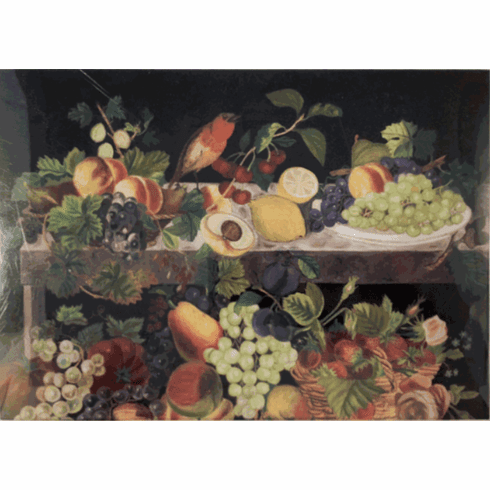 MFA <i>Table with Fruit and Bird Singing</i> Holiday Cards