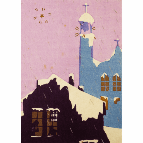 MFA <i>Townscape in Winter</i> Holiday Cards