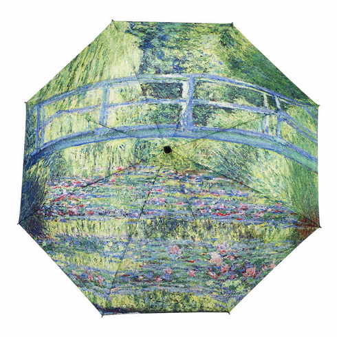 Monet Japanese Bridge Mini Umbrella
