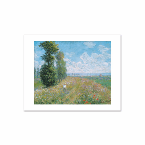 Monet <i>Meadow With Poplars</i>