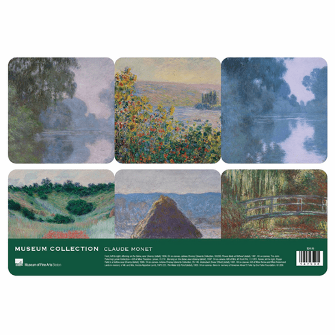 Monet <i>MFA Masterpieces</i> Coasters Set of 6
