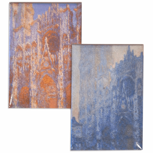 Monet <i>Rouen Cathedral</i> Magnets<br>Set of 2