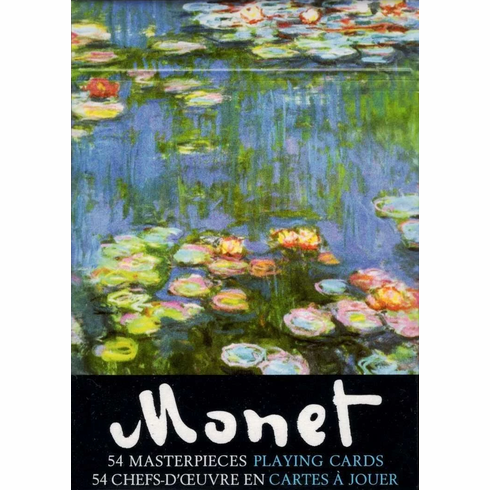 Monet Single Deck Playing Cards
