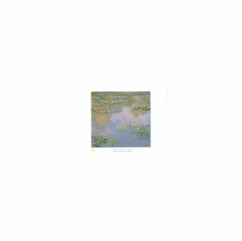 Monet <i>Water Lilies, 1907</i> Poster