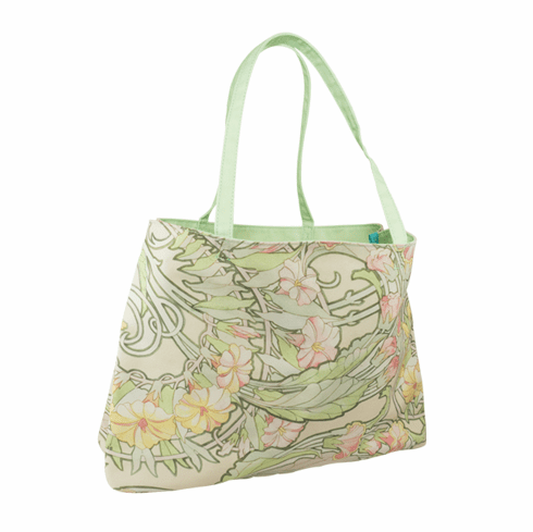 Mucha Floral Tote