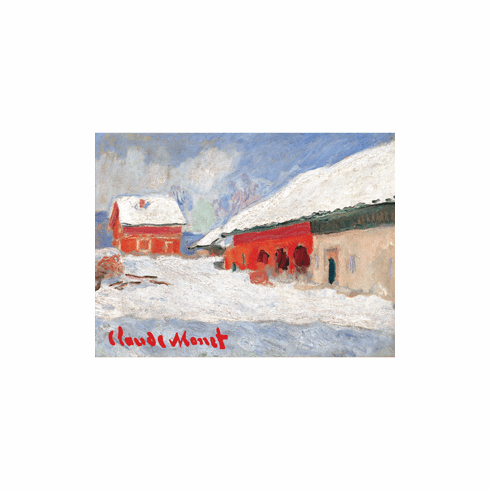 <i>Red Houses</i> Holiday Cards
