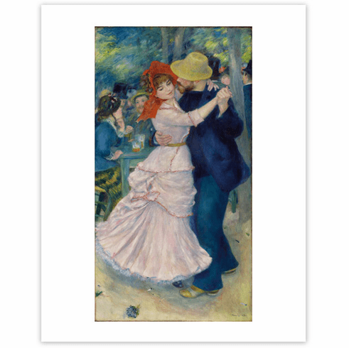 Renoir <i>Dance at Bougival</i><br>11 x 14 Matted Print