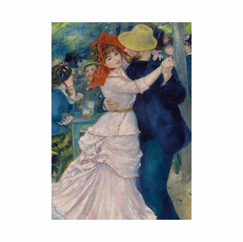 Renoir <i>Dance at Bougival</i> Postcard