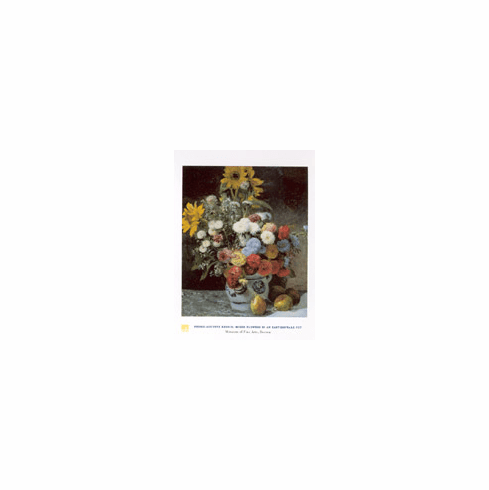 Renoir <i>Mixed Flowers</i> Poster