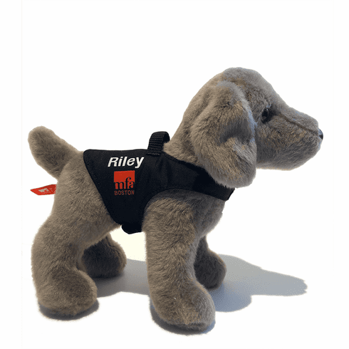 "Riley the Museum Dog 8"" Plush Toy"