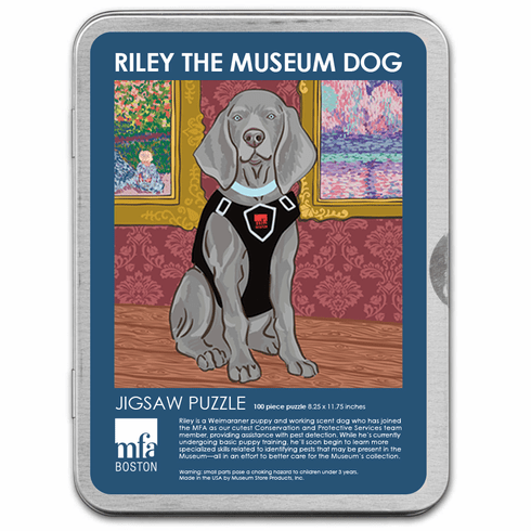 Riley the Museum Dog Puzzle