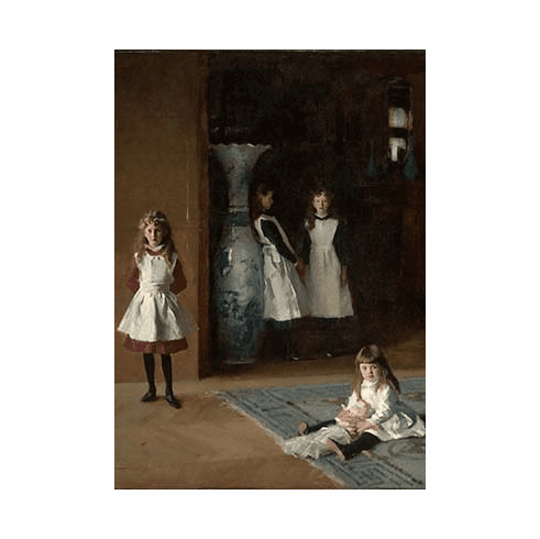 Sargent <i>The Daughters of Edward Darley Boit</i> Postcard