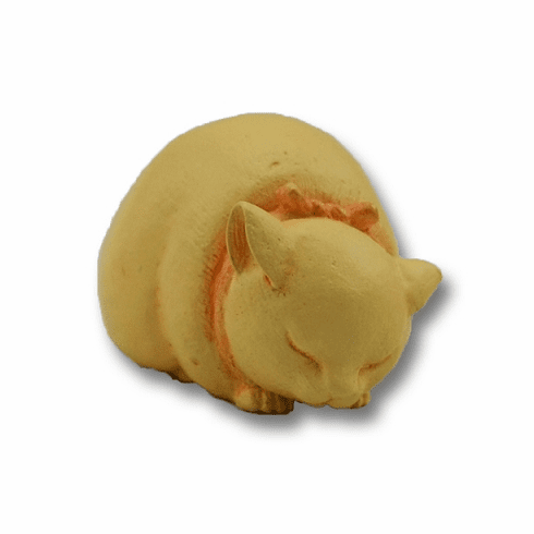 Sleeping Cat Netsuke