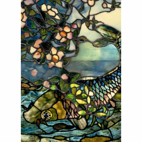 Stained Glass Notecard Wallet