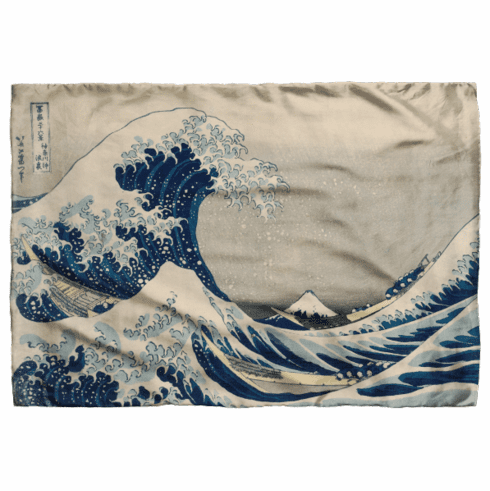 <i>The Great Wave</i> Scarf
