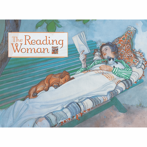 <i>The Reading Woman</i> Notecard Box