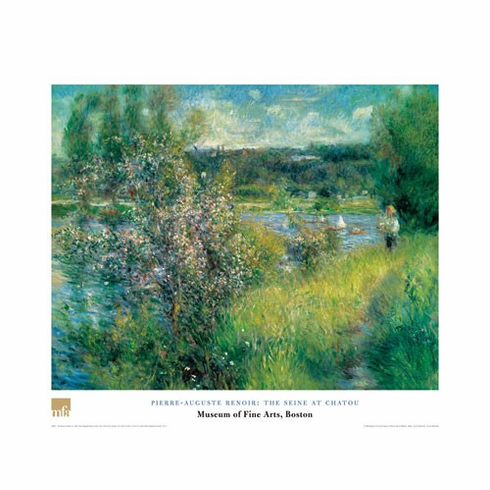 <i>The Seine at Chatou</i>  Poster