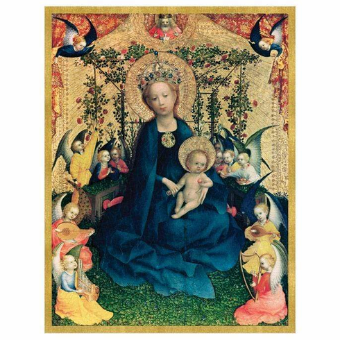 The Virgin of Rose Bush Holiday Cards