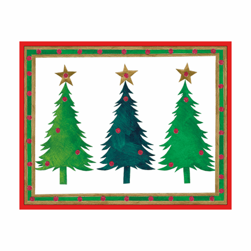 Three Trees Holiday Card