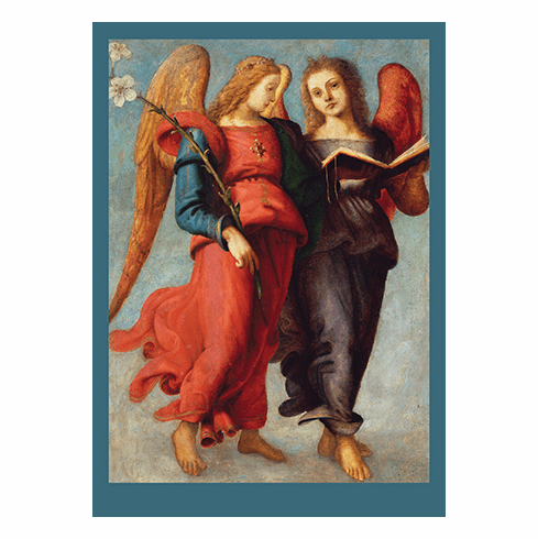 <i>Two Angels</i> Holiday Cards