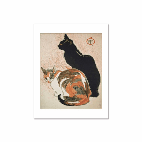 Steinlen <i>Two Cats</i>