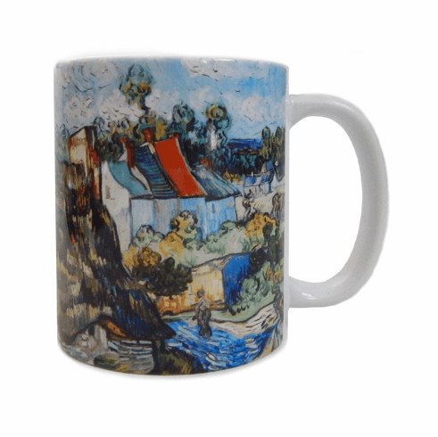 Van Gogh <i>Houses at Auvers</i> Mug