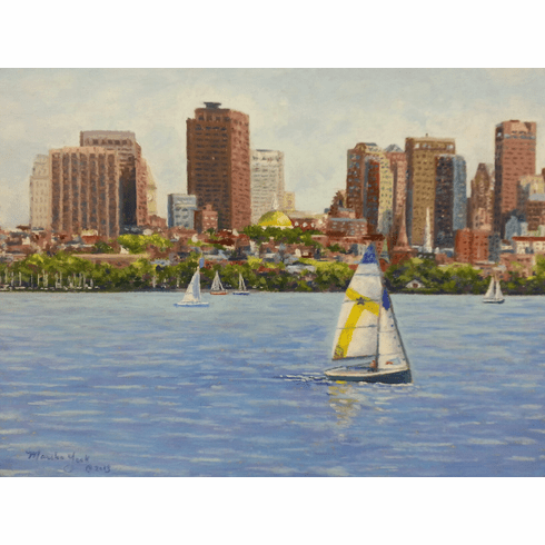 View from the Charles<br> Ornament