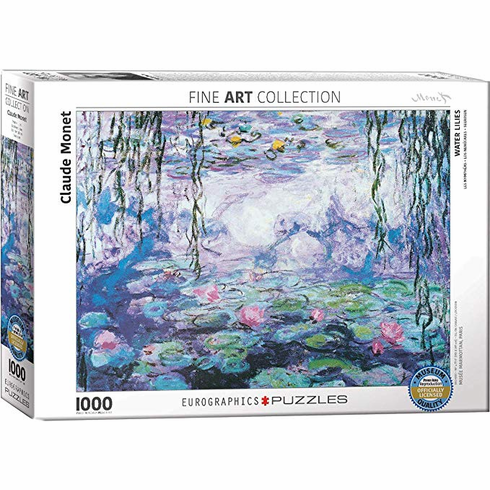 Waterlilies IV by Claude Monet - 1,000 Piece Puzzle