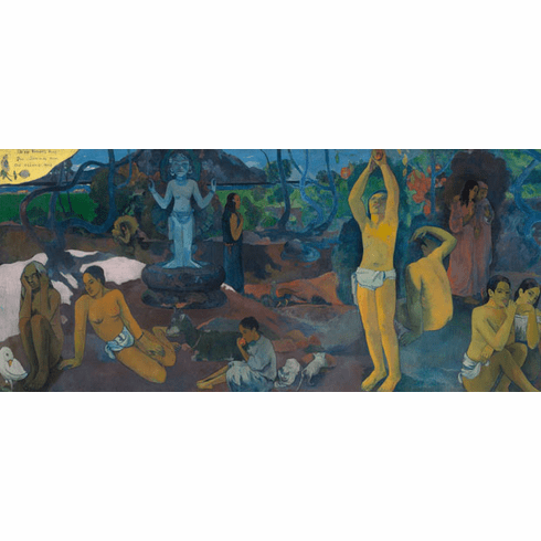 <i>What Are We? Where Are We Going?</i> Paul Gauguin Post Card